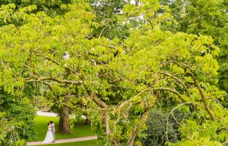 bruidskoppel natuur