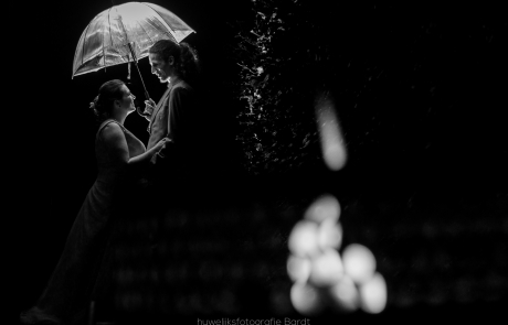 bruidskoppel nacht